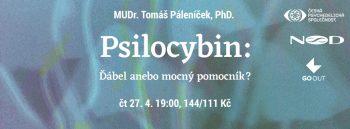 Tomáš Páleníček: Psilocybin – Ďábel a nebo mocný pomocník?