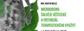 Martin Malec: Microdosing šalvěje věštecké a potenciál terapeutického využití