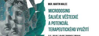 Microdosing šalvěje věštecké a potenciál terapeutického využití