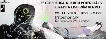 PSYCHEDELIKATESY// Psychedelika a jejich potenciál v terapii a osobním rozvoji